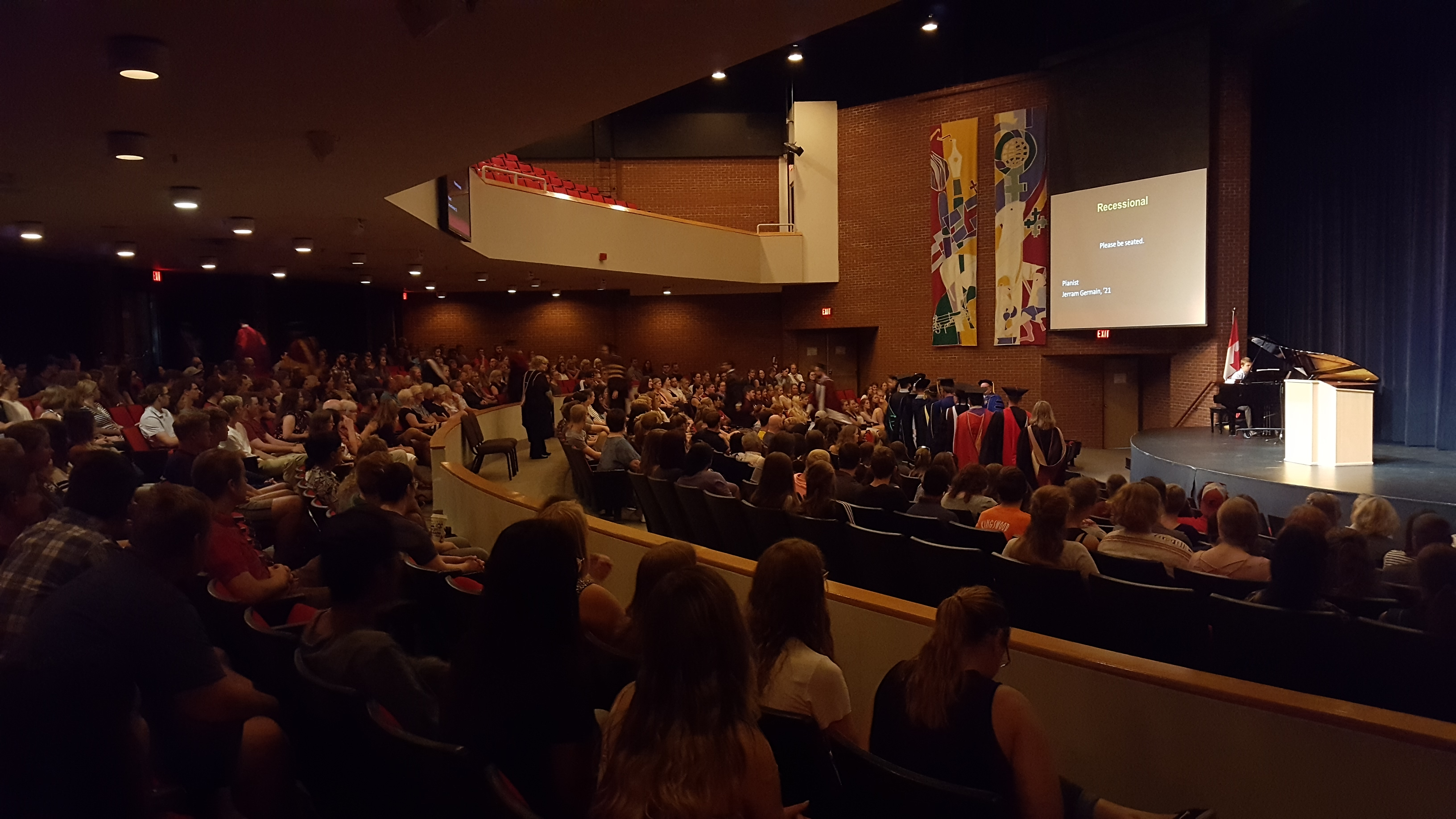 Opening convocation 2017.