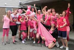 Team Pink during orientation activities
