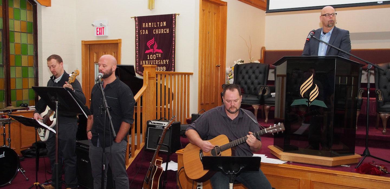 Blessings Christian Church worship team.