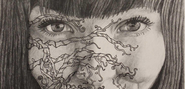 """Entangled Isolation"" artwork by Miranda Van Rooyen."