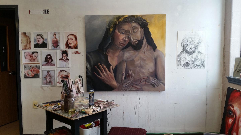 Bethany Kenyon's studio.