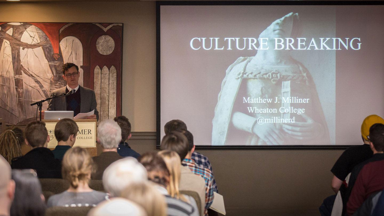 Culture Breaking lecture.